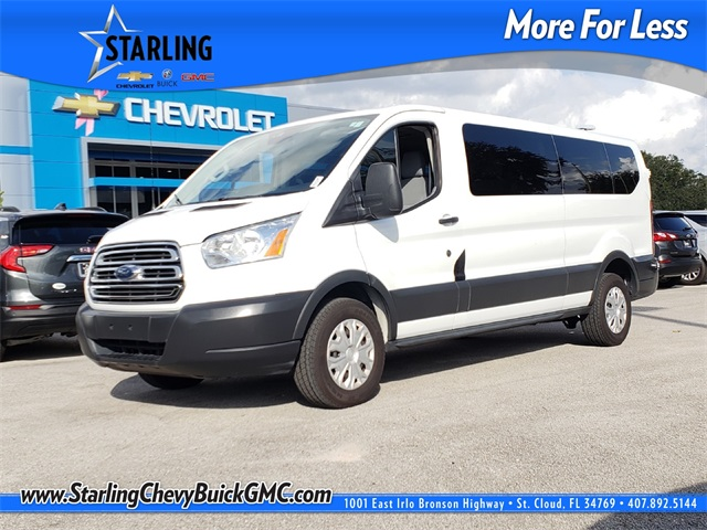 Pre-Owned 2016 Ford Transit-350 XLT RWD 3D Low Roof Wagon