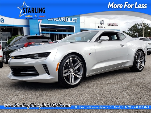 Certified Pre-Owned 2018 Chevrolet Camaro 1LT RWD 2D Coupe