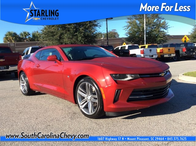 Pre-Owned 2017 Chevrolet Camaro 2LT RWD 2D Coupe