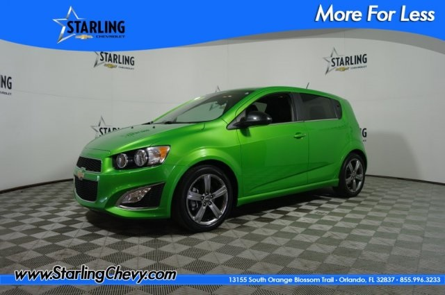 Certified Pre-Owned 2015 Chevrolet Sonic RS