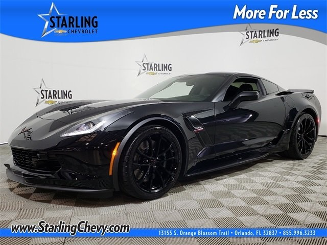 Certified Pre-Owned 2017 Chevrolet Corvette Grand Sport RWD 2D Coupe
