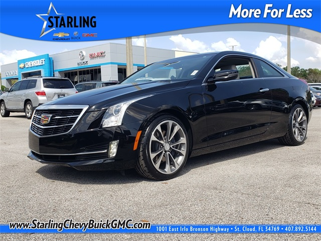 Pre-Owned 2017 Cadillac ATS 2.0L Turbo Luxury With Navigation