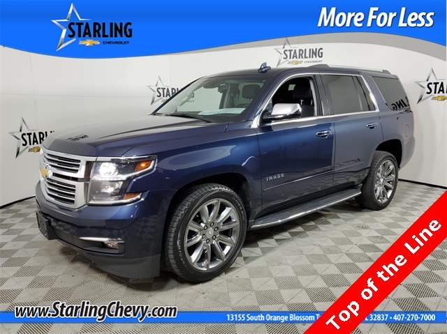 Certified Pre-Owned 2017 Chevrolet Tahoe Premier