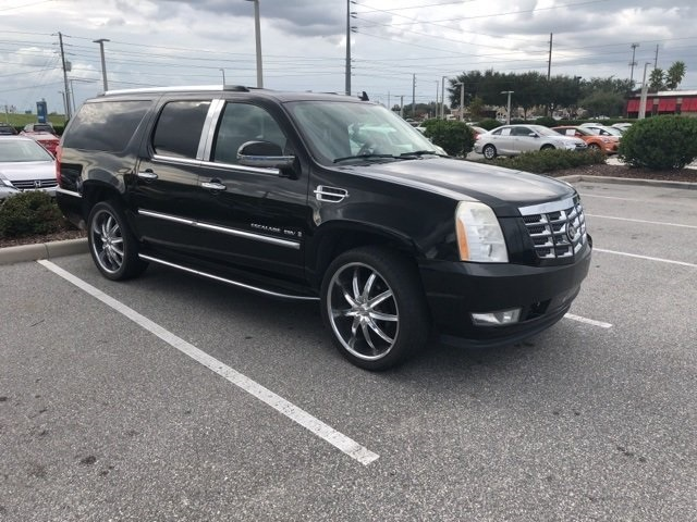 Pre-Owned 2008 Cadillac Escalade ESV Base AWD