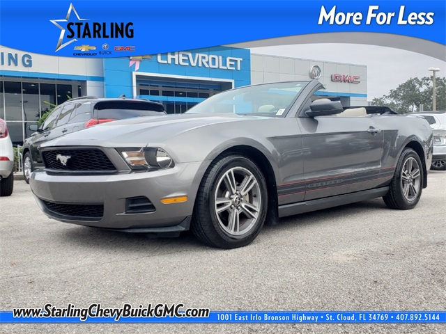 Pre-Owned 2010 Ford Mustang V6 Premium RWD 2D Convertible