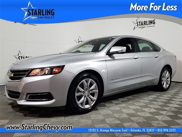 Certified Pre-Owned 2017 Chevrolet Impala LT FWD 4D Sedan