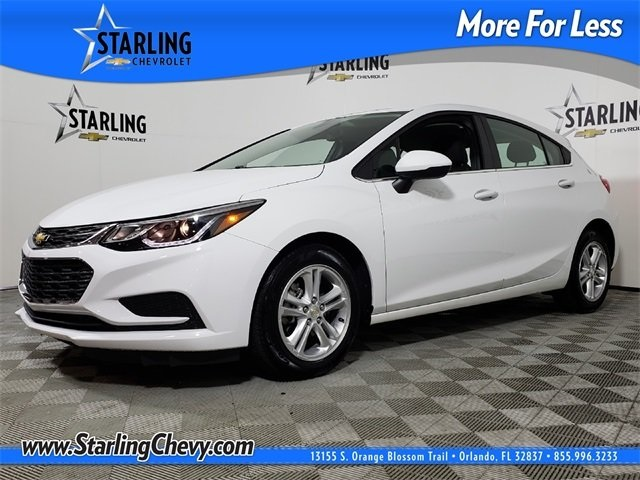Certified Pre-Owned 2018 Chevrolet Cruze LT FWD 4D Hatchback
