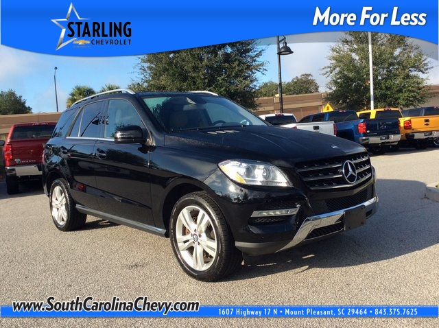 Pre-Owned 2014 Mercedes-Benz M-Class ML 350 4MATIC® 4D Sport Utility