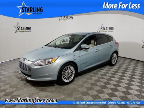 Pre-Owned 2013 Ford Focus Electric Base