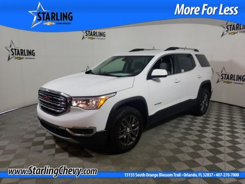 Certified Pre-Owned 2018 GMC Acadia SLT-1