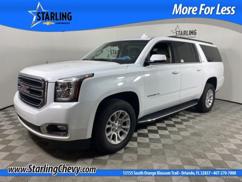 Certified Pre-Owned 2019 GMC Yukon XL SLT
