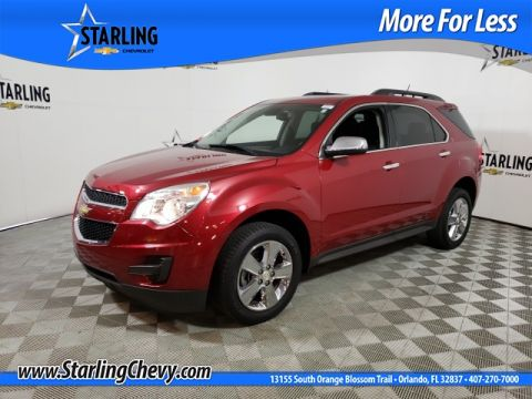 Certified Pre-Owned 2015 Chevrolet Equinox LT