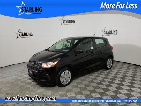 Certified Pre-Owned 2017 Chevrolet Spark LS